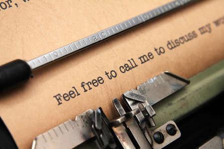 important phone call: Feel free to call me