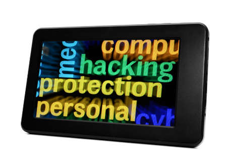hack: Hack protection Stock Photo