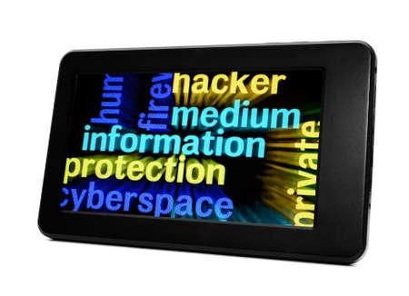 information medium: Medium information Stock Photo
