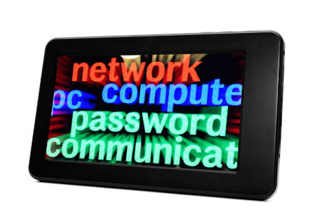 Network computer password Stock Photo - 18122231