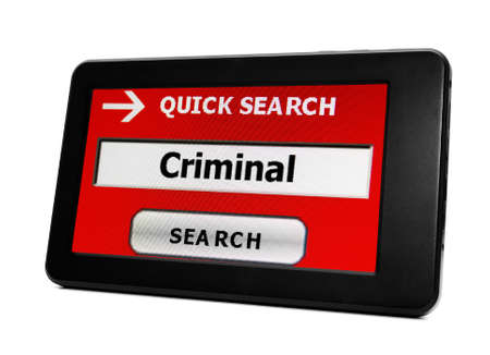 Search for criminal Stock Photo - 18281961