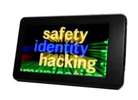 Safety identity hacking Stock Photo - 18389192