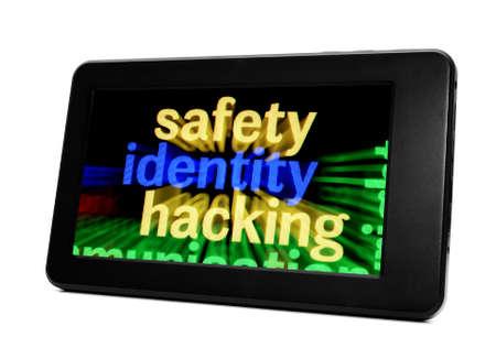 Safety identity hacking Stock Photo - 18389192