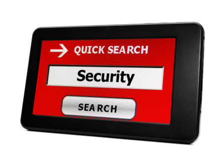 Search for security Stock Photo - 18389236