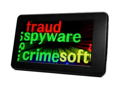 spyware: Spyware concept