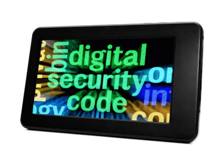 security code: Digital security code