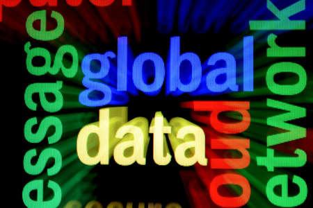 Global data Stock Photo - 18560510