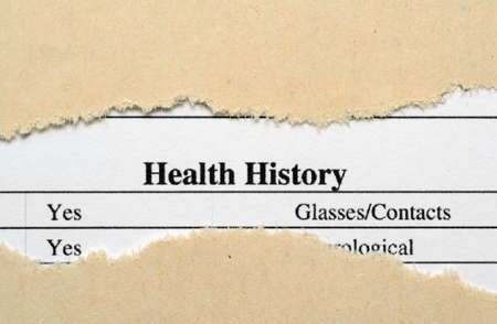 medical questions: Health history