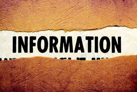 Information Stock Photo - 18560517