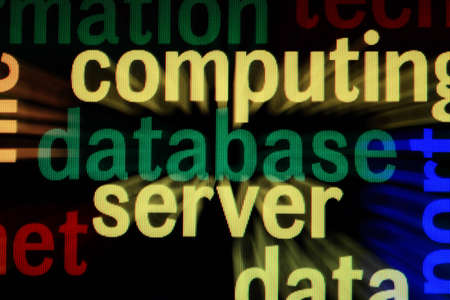 Database server concept Stock Photo - 18781141