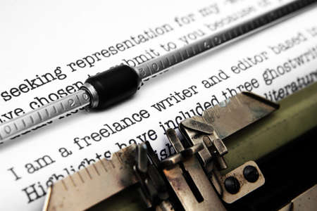 Freelance writer letter photo