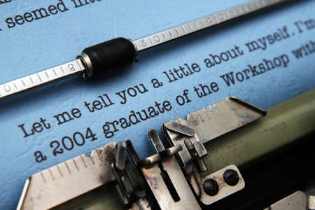 biography: Job offer letter Stock Photo