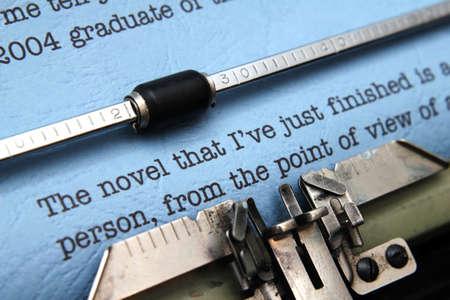 novel: Novel letter
