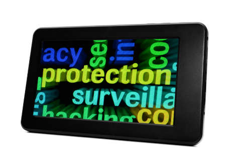 Web protection concept Stock Photo - 18781117