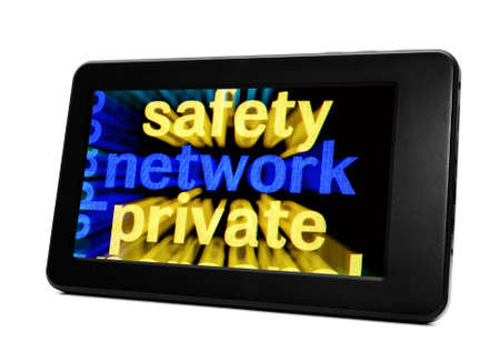 Network concept on Pc tablet Stock Photo - 18964028