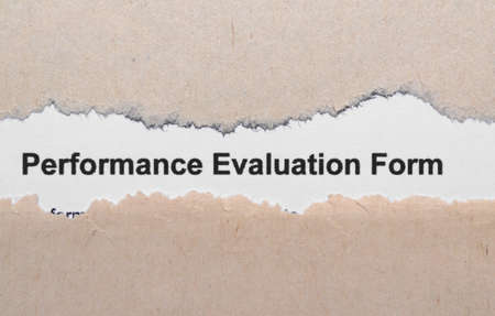 Performance evaluation photo