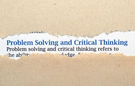 resolving: Problem solving concetto Archivio Fotografico