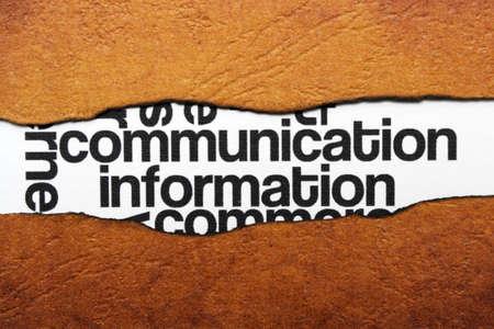 advisement: Communication Stock Photo