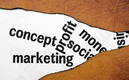 Concept marketing profit Stock Photo - 19083675