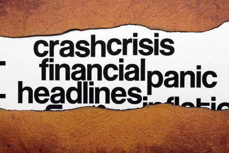 FInancial crisis headline photo