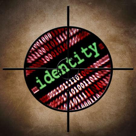 Identity target Stock Photo - 19196329