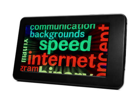 Speed internet concept Stock Photo - 19196222