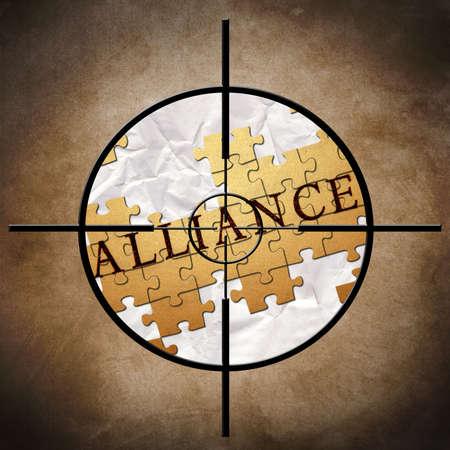 Alliance target photo