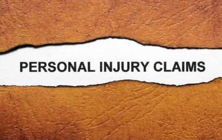 risky job: personal injury claim