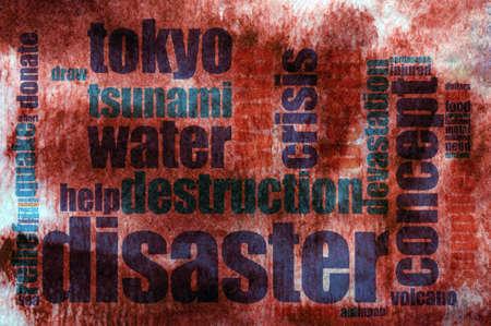 devastating: Destruction concept