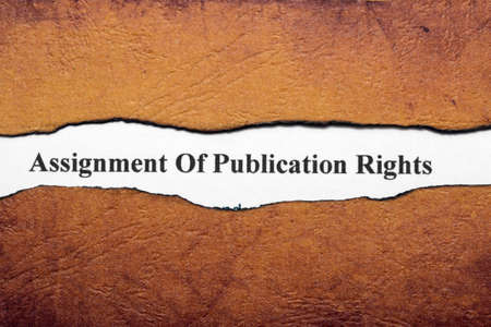 publication: Assignment of publication rights