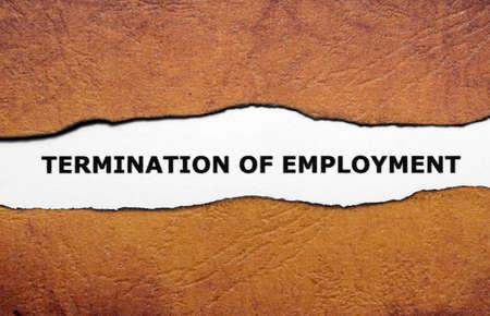 termination: Termination of employment