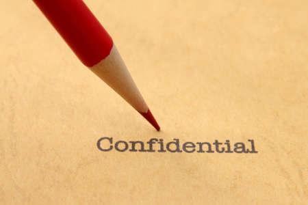 Confidential Stock Photo - 19582970