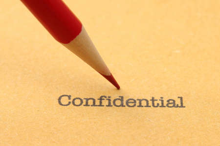 Confidential Stock Photo - 19582967