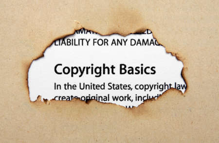 secured property: Copyright on paper hole