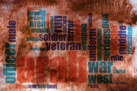 despotism: Military word cloud