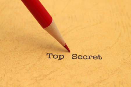 Top secret Stock Photo - 19842950