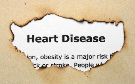 enfermedades del corazon: Enfermedad del coraz?n Foto de archivo