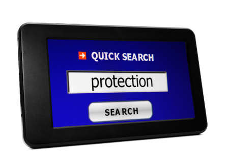 secret identities: Web search for protection
