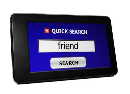 Search for friend Stock Photo - 20343073