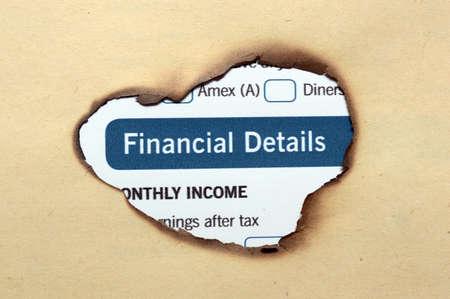 comparable: Financial details