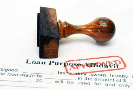 Loan form Stock Photo - 20490024