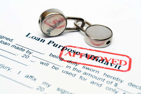 Loan form Stock Photo - 20490031