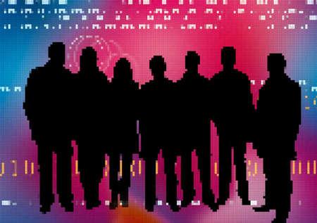 electors: Web team Stock Photo