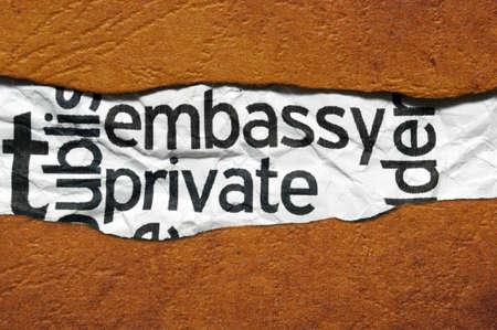 diplomatic: Embassy private
