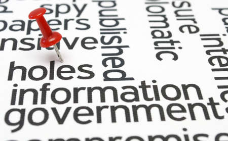Information government Stock Photo - 20846917