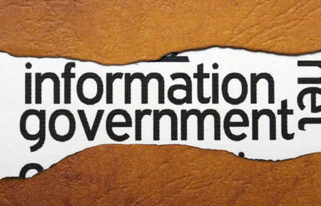 Information government Stock Photo - 20846928