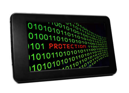 Protection on pc tablet photo