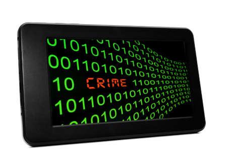 Web crime concept photo