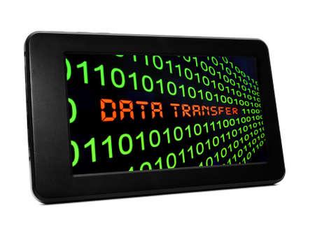 Data transfer Stock Photo - 21046786