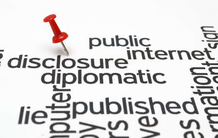 disclosure: Disclosure diplomatic published